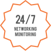 24/7 Network Monitoring