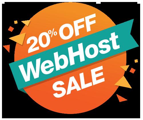 webhost sale